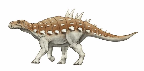 ヒラエオサウルス(Hylaeosaurus )・川崎悟司イラスト集